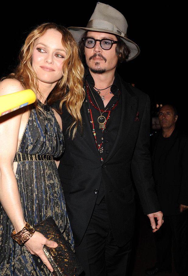 Johnny Depp and Vanessa Paradis Cannes International Film Festival 2010 - Day 7 - 'Chanel Party' Cannes, France