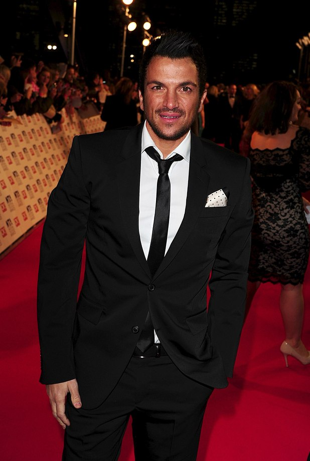 Peter Andre arriving for the 2012 NTA Awards