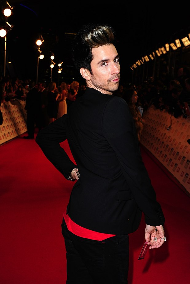 Russel Kane arriving for the 2012 NTA Awards