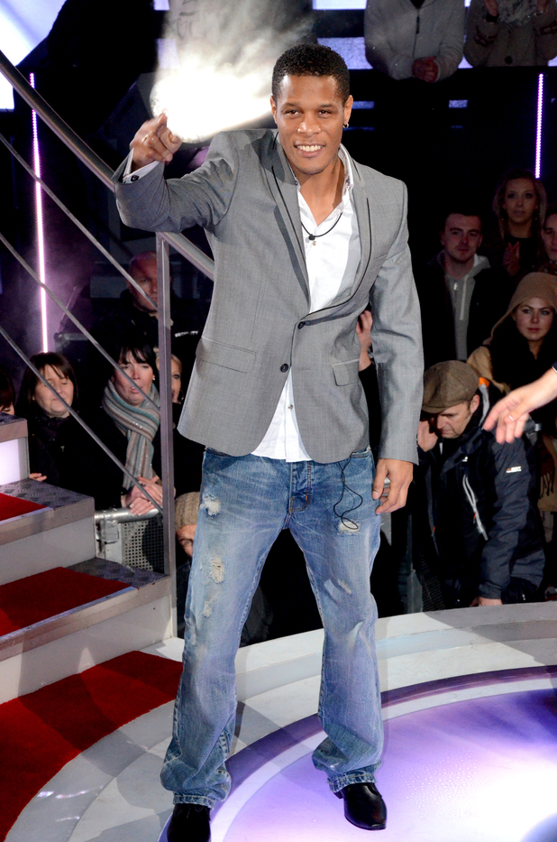 Romeo Dunn is evicted from the Celebrity Big Brother House