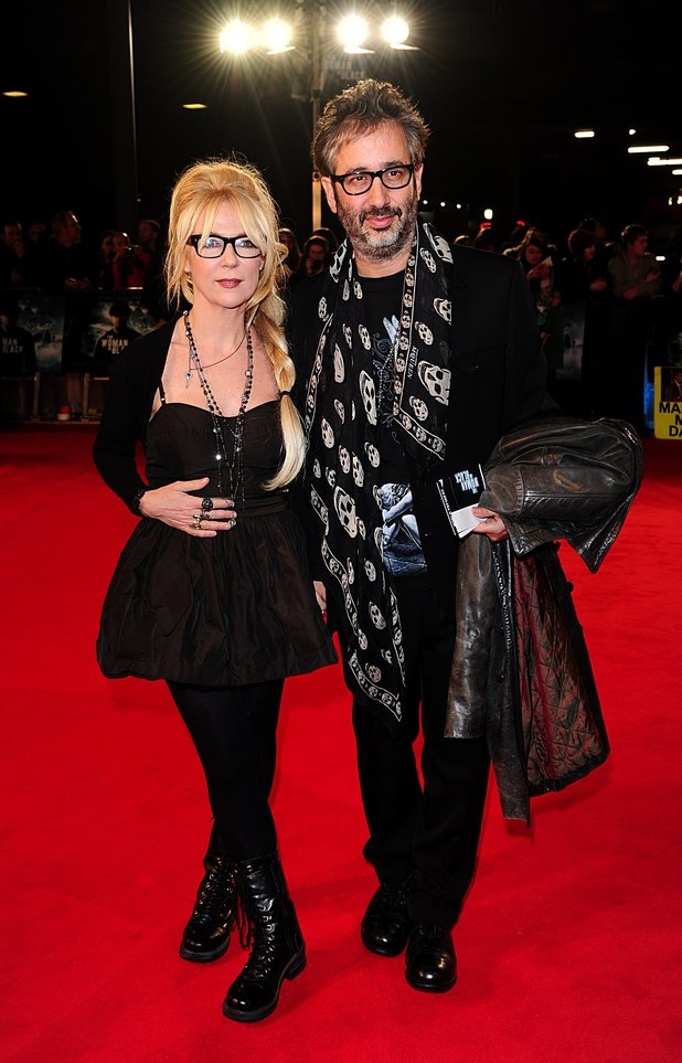 David Baddiel and Morwena Banks