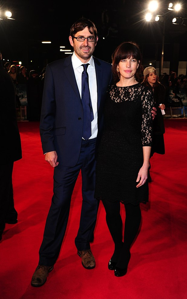 Louis Theroux and wife Nancy