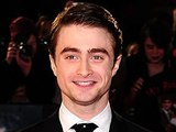 Daniel Radcliffe arriving at the world premiere of The Woman in Black, at The Royal Festival Hall