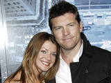 Sam Worthington, right, and Crystal Humphries
