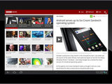 The BBC News Android Tablet App