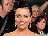 Shona McGarty arriving for the 2012 NTA Awards