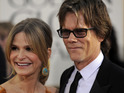 Kevin Bacon and Kyra Sedgwick discover that they're distantly related to each other.