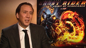 Nicolas Cage talks about returning to play Johnny Blaze in the 'Ghost Rider' sequel 'Spirit Of Vengeance'. Cage also gives us his take on Nevaldine and Taylor's unconventional methods and his own internet fan base.