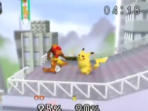 &#39;Super Smash Bros&#39; screenshot