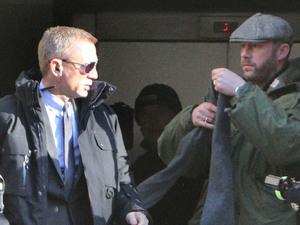 Daniel Craig filming 'Skyfall'