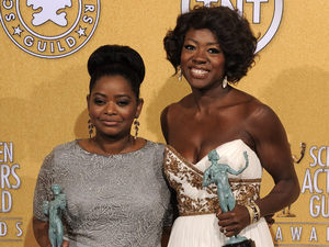 Octavia Spencer, Viola Davis,18th Annual Screen Actors Guild Awards