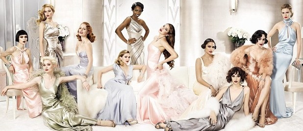 Vanity Fair, Jessica Chastain. Rooney Mara, Jennifer Lawrence, Elizabeth Olsen