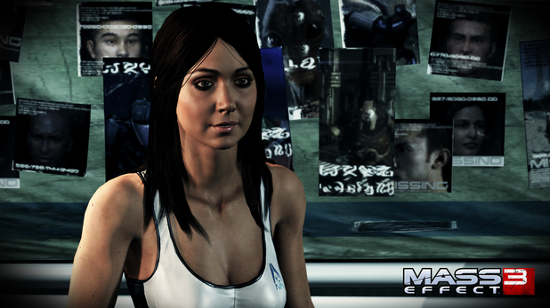 Mass Effect 3 Character screenshots