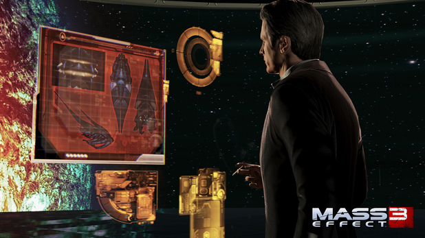 Mass Effect 3 Character Screens: The Illusive Man