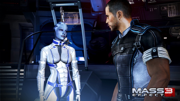 Mass Effect 3 Character Screens: Liara