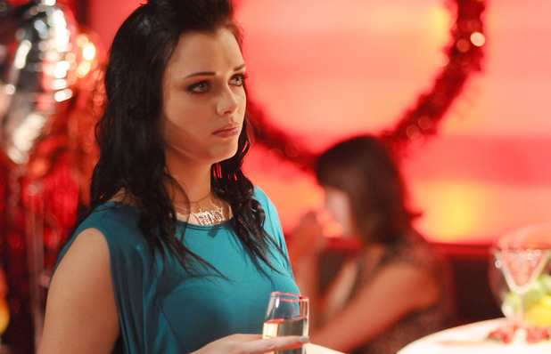 Tyler Moon (Tony Discipline) confesses his feelings to Whitney Dean (Shona McGarty)