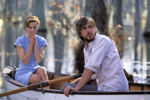 Noah (Ryan Gosling) and Allie (Rachel McAdams)