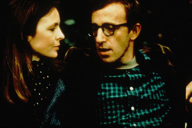 Alvy Singer (Woody Allen) and Annie Hall (Diane Keaton)