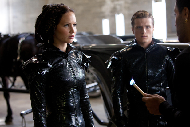 Katniss and Peeta meet Cinna