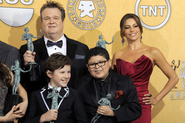 Sofia Vergara, Rico Rodriguez, Nolan Gould and Eric Stonestreet