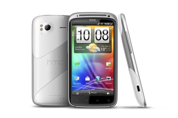 HTC Sensation Ice White Model