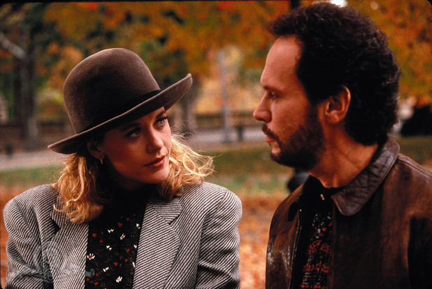 Harry Burns (Billy Crystal) and Sally Albright (Meg Ryan)