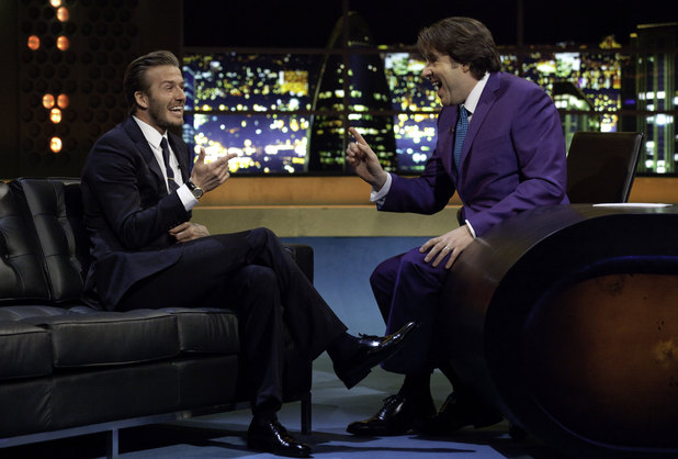 David Beckham on The Jonathan Ross Show