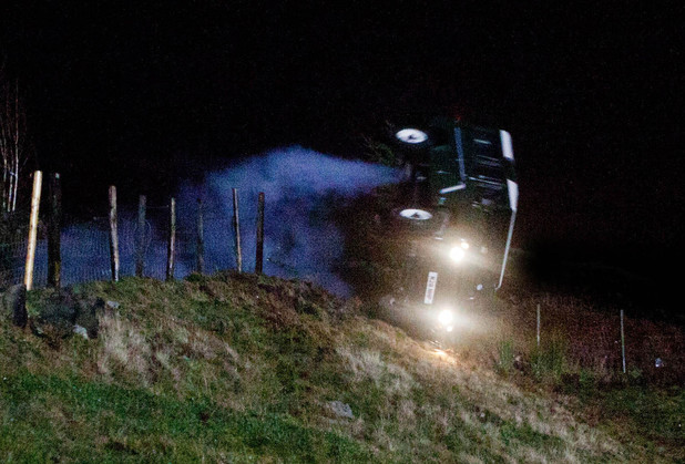 John Barton (James Thornton) and Moira Barton (Natalie J Robb) have a horrific car accident