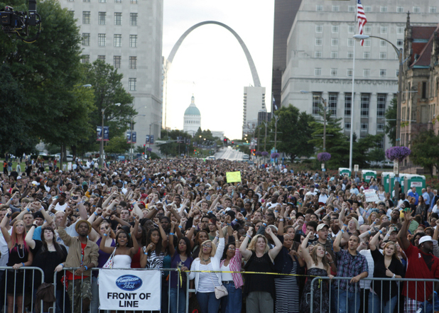 American Idol - Season 11 - St. Louis Auditions
