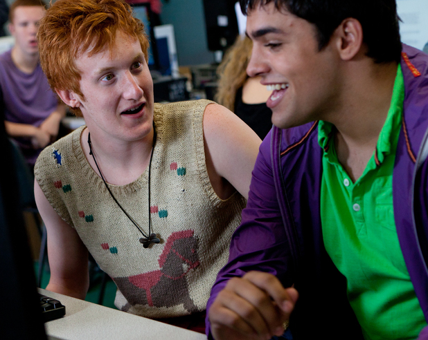 Alo (Will Merrick) and Nick (Sean Teale), Skins