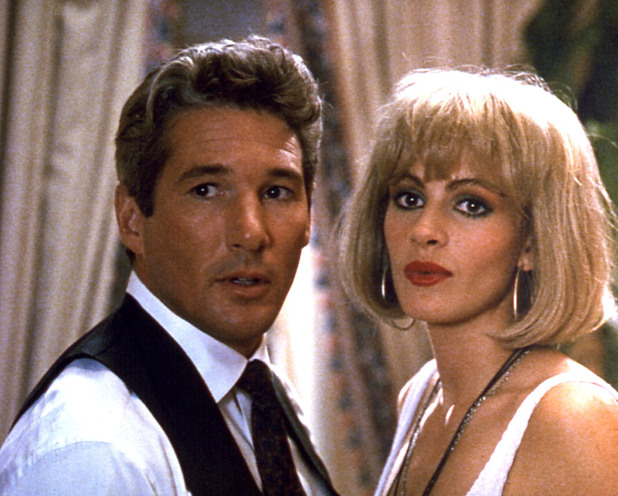 Vivian Ward (Julia Roberts) and Edward Lewis (Richard Gere)