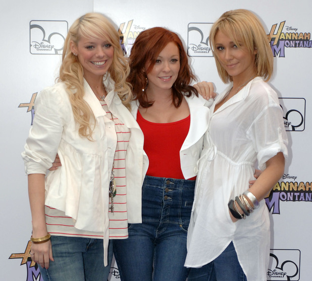 Liz McClarnon, Natasha Hamilton and Jenny Frost of Atomic Kitten