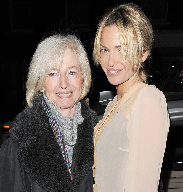 Sarah Harding and mother Marie Hardman