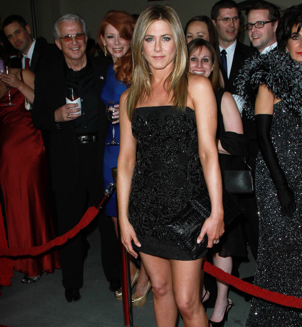 Jennifer Aniston 64th Annual Directors Guild of America Awards held at The Grand Ballroom - Arrivals Los Angeles