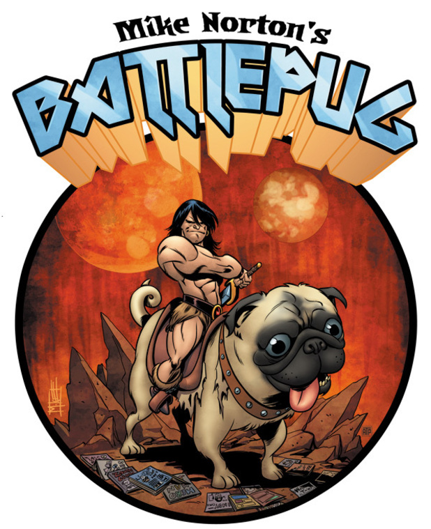'Battlepug' artwork