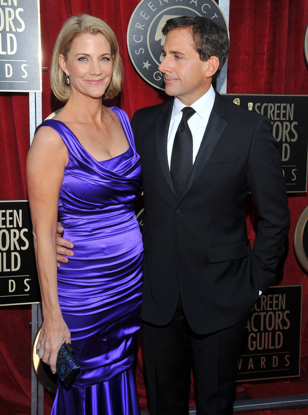 Steve Carell with wife Nancy