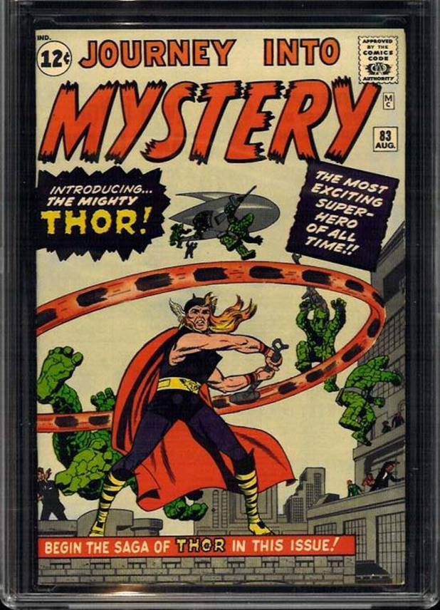 &#39;Journey Into Mystery&#39; Thor cover