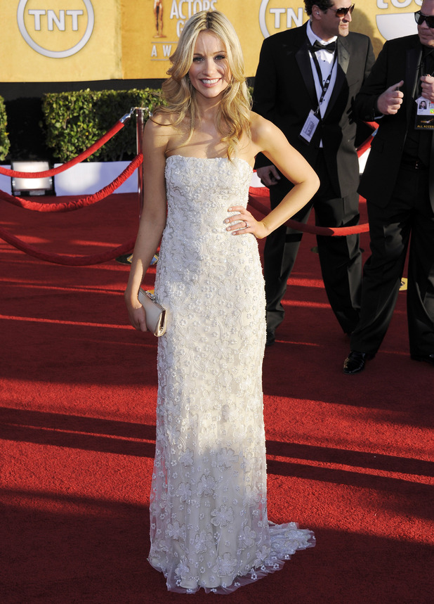 Katrina Bowden at the 18th Annual Screen Actors Guild Awards