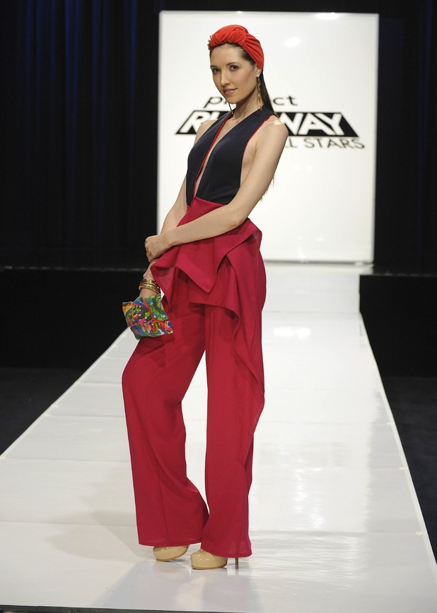 Anthony Williams' design, Project Runway Allstars