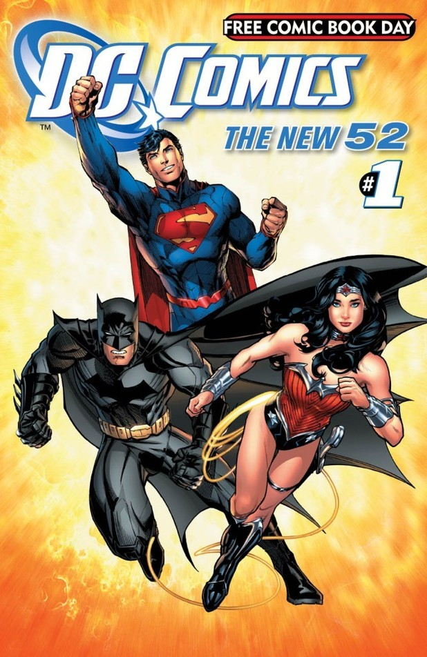 'The New 52 Free Comic Book Day Edition' artwork
