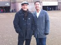John Torode and Gregg Wallace take part in this week's Magicians stunt.