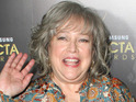 Kathy Bates will play the ghost of Charlie Harper in Two and a Half Men.