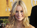 "Katrina Bowden jokes that 30 Rock fans are surprised she's ""normal""."
