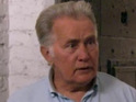 Martin Sheen will play the father of his real-life son Charlie Sheen.