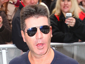 Simon Cowell at the 'Britain's Got Talent' auditions at the Hammersmith Apollo London