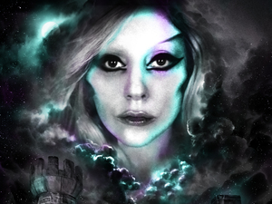 Lady GaGa &#39;Born This Way Ball&#39; tour poster