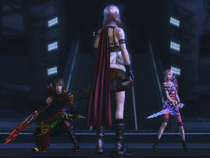 Final Fantasy XIII-2 Opponent: Lightning & Amador DLC