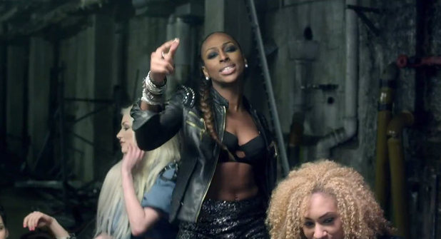 Alexandra Burke ft. Erick Morillo: 'Elephant' video still