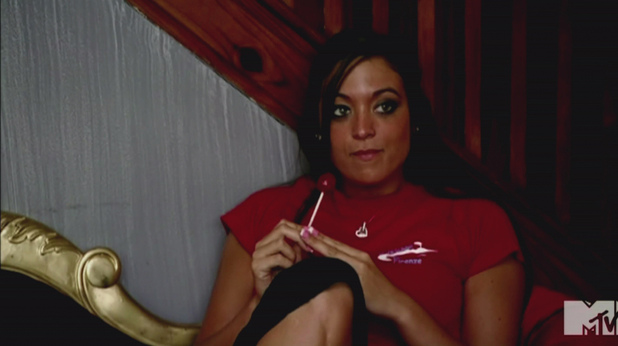 Sammi 'Sweetheart' Giancola MTV's 'Jersey Shore' Season 5, Episode 6 The Follow Game: Mike gathers information on a roommate while Jenni's boyfriend doesn't return her calls USA