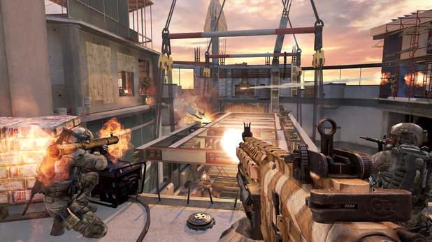 Modern Warfare 3 Overwatch map screenshot